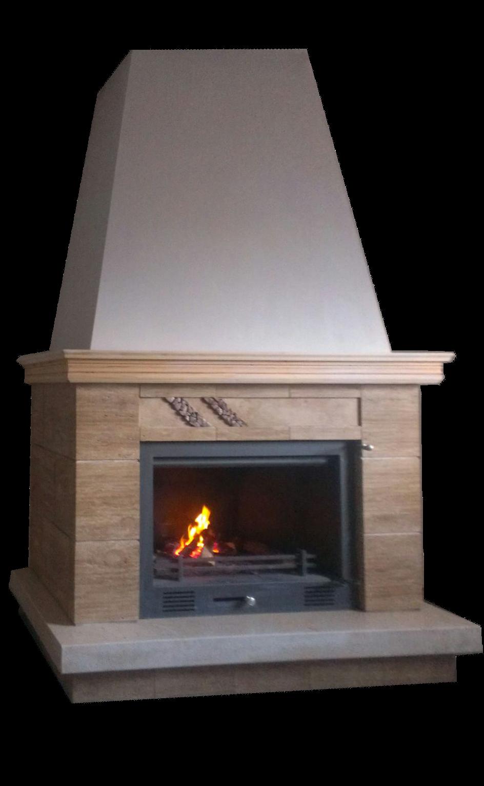 Comprar chimeneas hornos artesanos estufas barbacoas for Cassettes para chimeneas