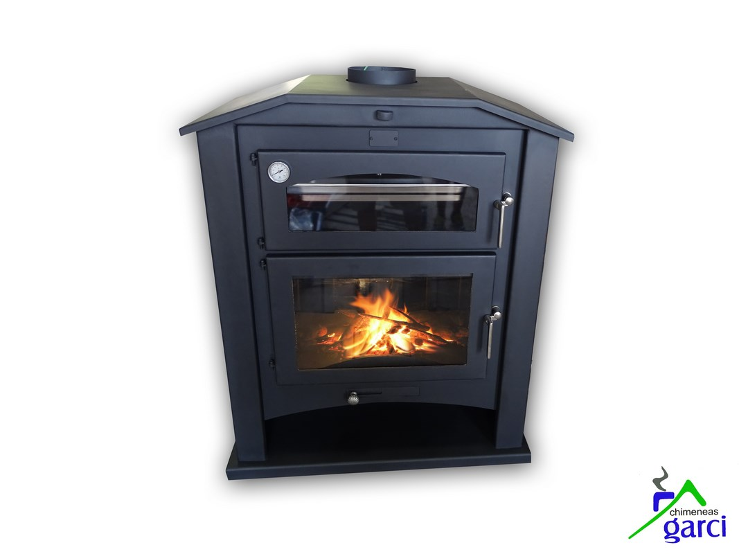Tiro de chimenea de lea simple latest excellent with for Chimeneas sin tiro